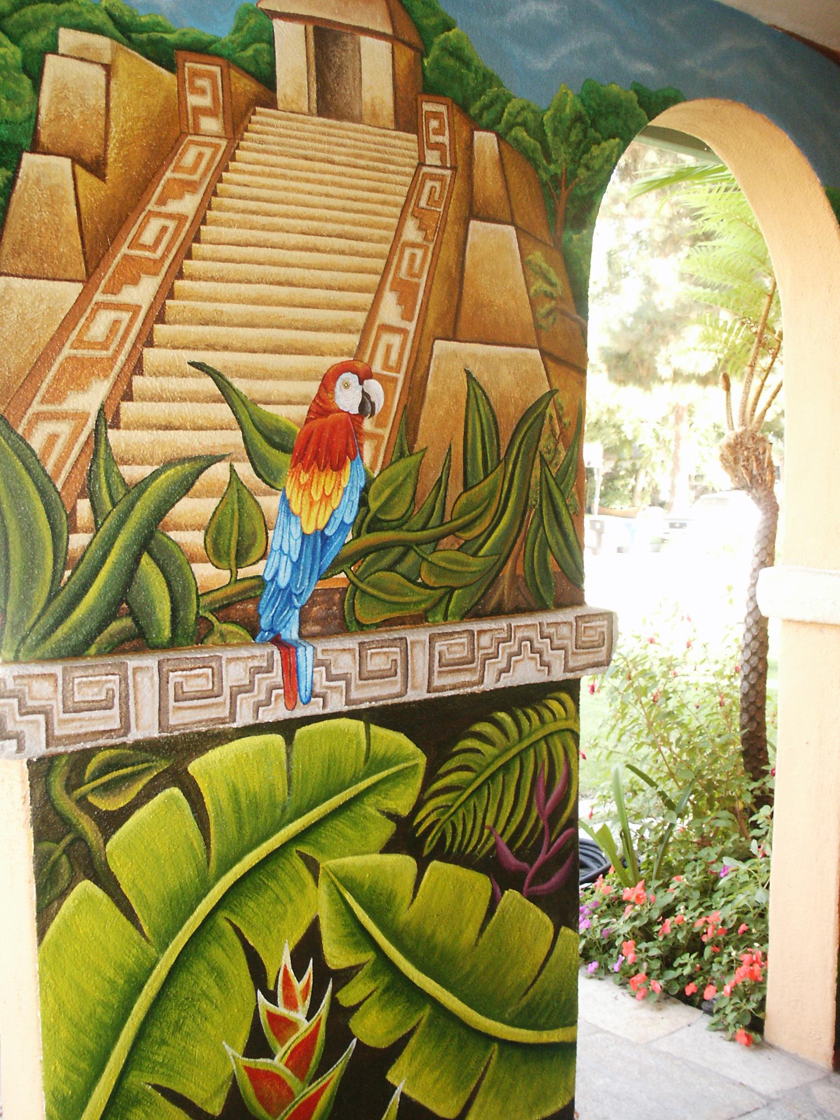Murals and public art arte toltecayotl for Mural joe painting